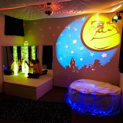 Example of a multisensory room